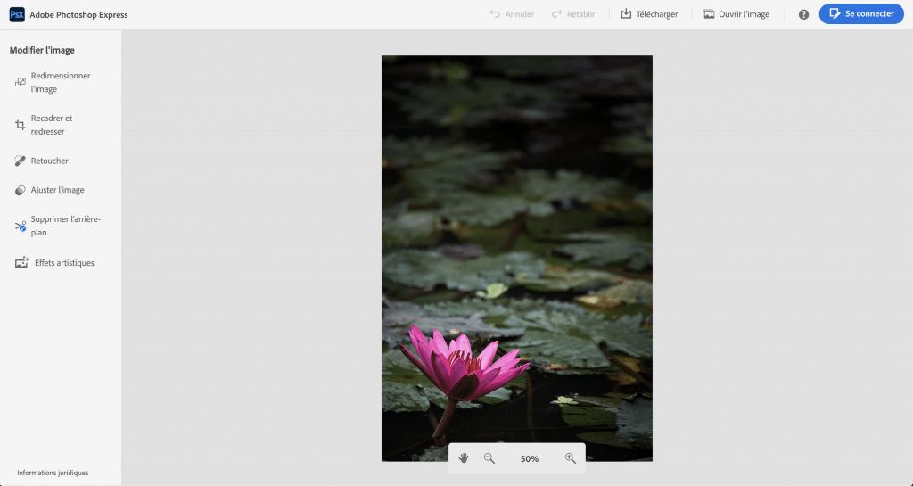Adobe express editor: un photoshop gratuit et allégé