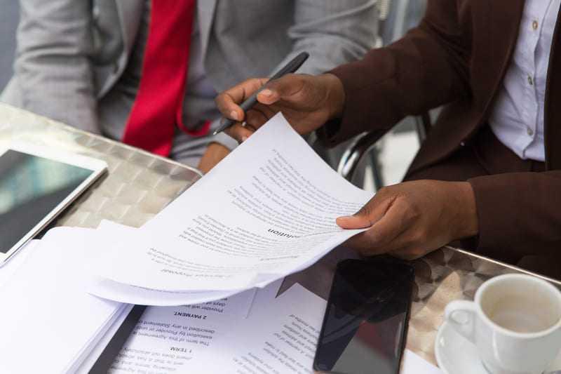 Documents légaux
