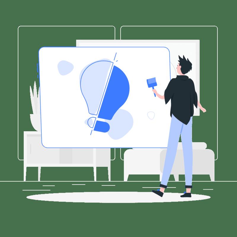 Créativité d'un concepteur web