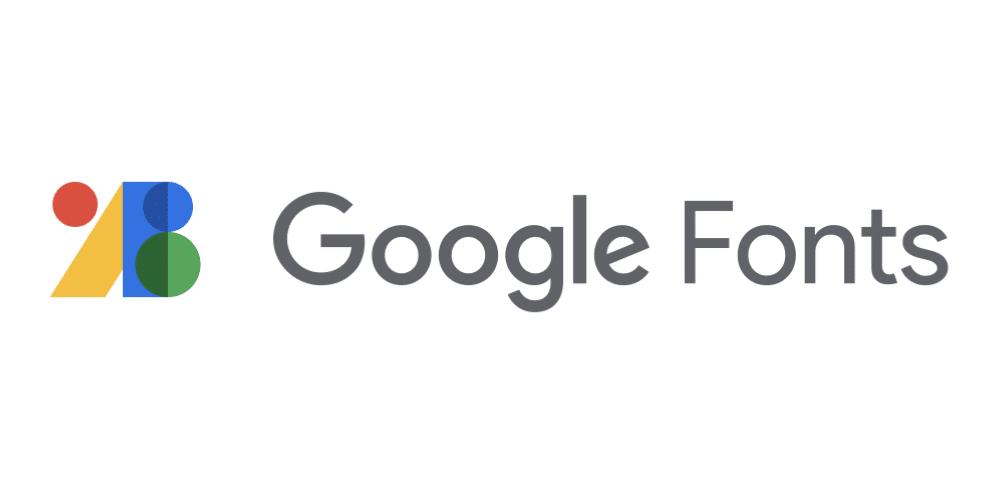 la librairie de polices d'écritures de Google: google font
