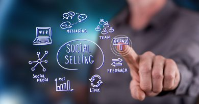 Le social selling illustration
