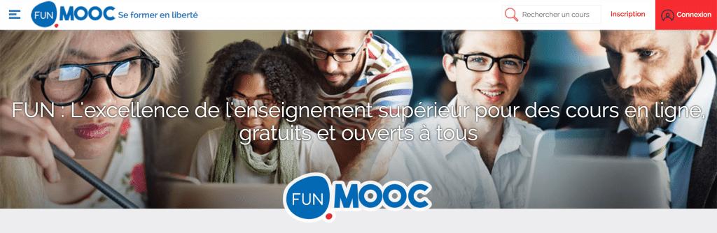 La plateforme de cours en ligne Funmooc
