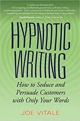Livre de Joe Vitale sur le copywriting