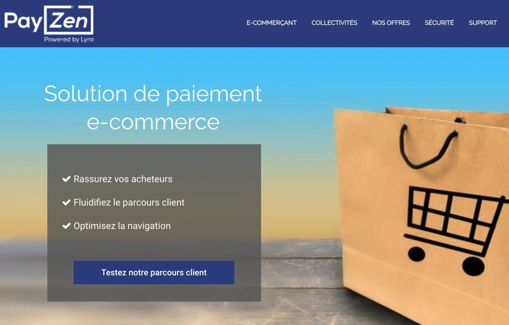 Solution de paiement en ligne Payzen