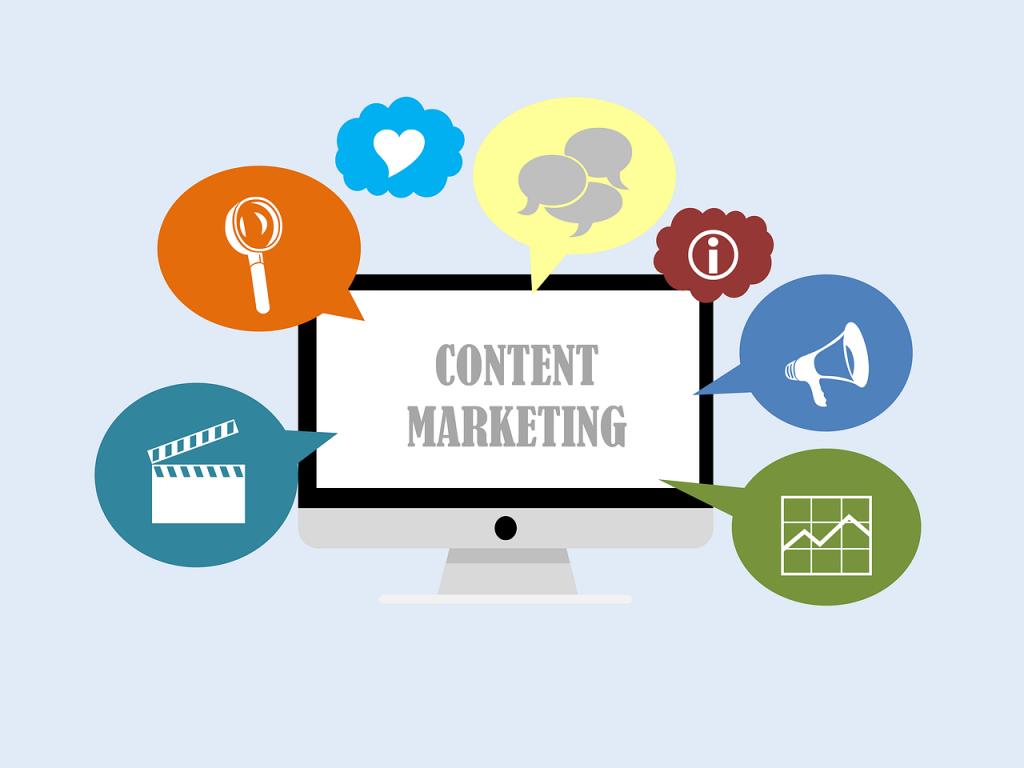 Les différentes formes de contenu dans le content marketing