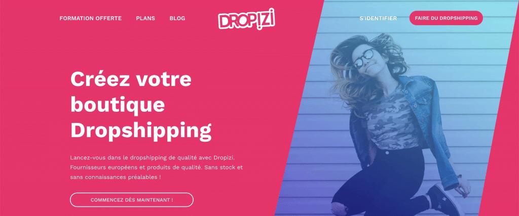 Formation dropshipping gratuite de dropizi