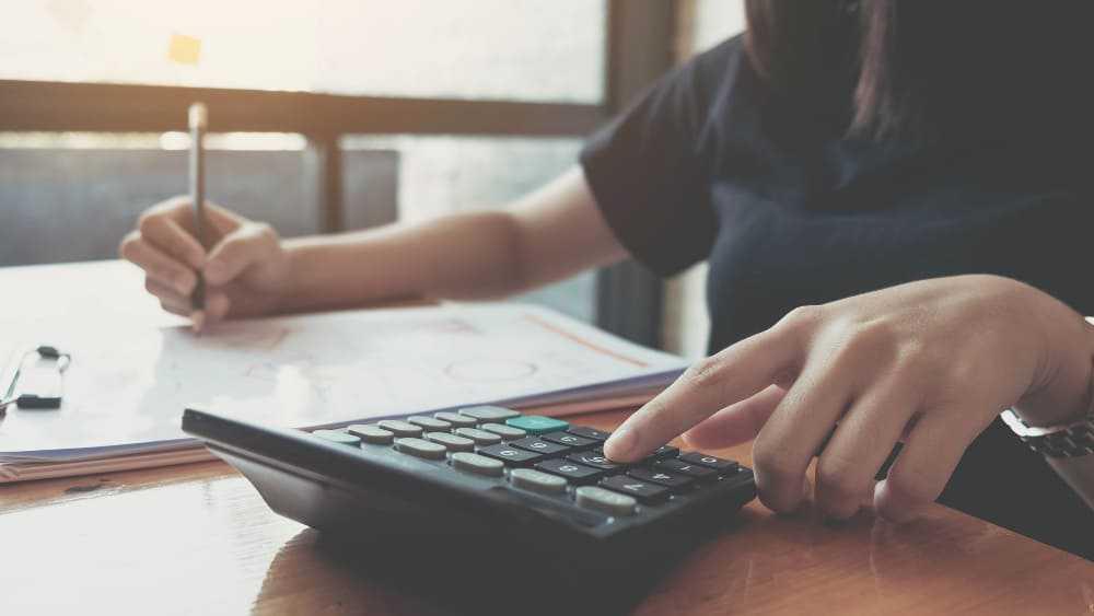 Calcul pour un comptable