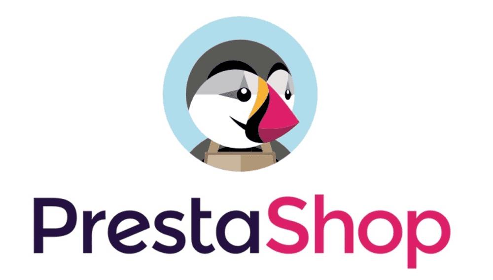 Logo PrestaShop: plateforme de site e-commerce