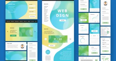 UI Design site internet