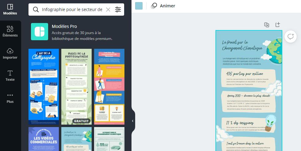 faire une infographie en ligne facilement
