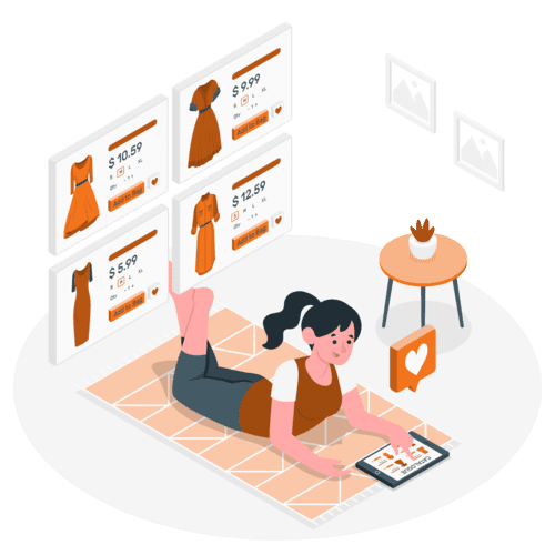 illustration d'un site e-Commerce conforme RGPD