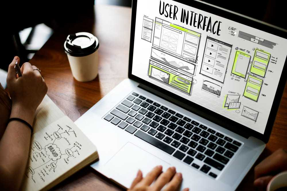 Développement en cours d'un site web