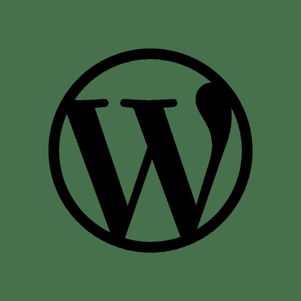 Logo WordPress - CMS